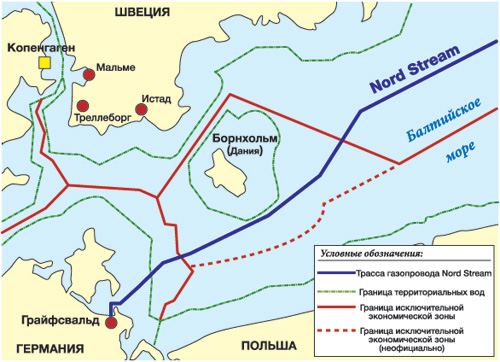 Оператор проекта в очередной раз вынужден корректировать трассу еще не построенного газопровода из России в Европу.